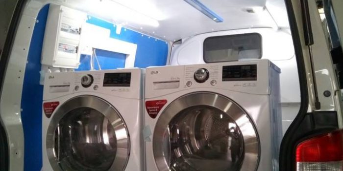LG Supports Ithaca Laundry Project